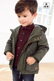 Waxy Cotton Coated Jacket (3mths-6yrs)