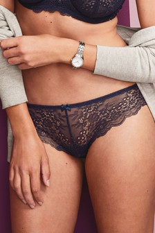 Glitter Lace Brazilian Briefs