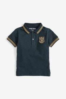 Short Sleeve Badge Poloshirt (3mths-7yrs)