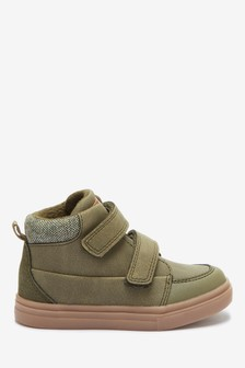 Warm Lined Double Strap Boots (Younger)