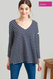 Joules Harbour Swing Lightweight Jersey Top