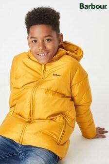 Barbour® Gold Ross Quilt Boys Jacket
