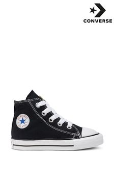 Converse Infant Black Chuck Hi Trainers