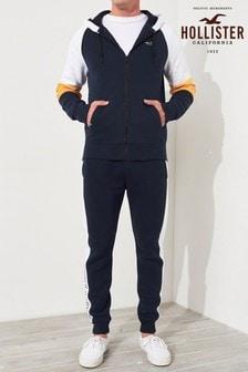 Hollister Navy Logo Skinny Jogger