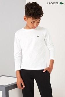 חולצת טי קלאסית עם שרוול ארוך של Lacoste®