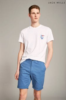 Jack Wills Cobalt Slim Chino Short