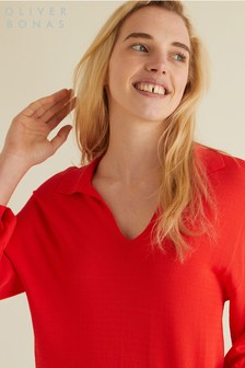 Oliver Bonas Red Buttercup Sweater