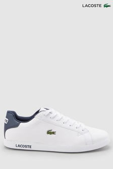 0b7897853cd8fe Lacoste® White Navy Graduate