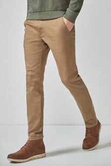 Ultra Flex Stretch Chino Trousers