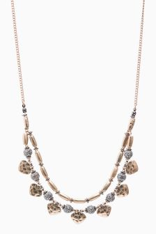 Two-Row Bead Necklace