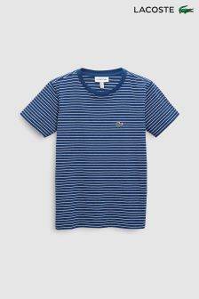 Lacoste® Matelot Chine And White Stripe Tee