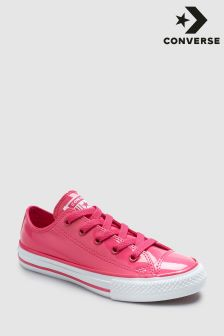 Converse Pink Patent Chuck Ox Trainer
