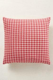 Mini Geo Jacquard Square Cushion