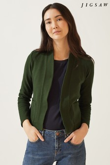 Jigsaw Textured Jersey Jacket