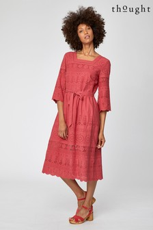 Thought Red Briony Dress