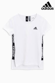 adidas White ID Tee