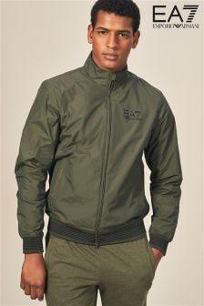 Emporio Armani EA7 Green Harrington Jacket