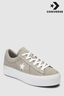 Converse Grey Platform One Star