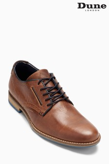 Dune Brown Brewer Derby Lace Shoe