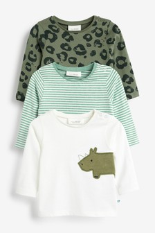 Animal T-Shirts Three Pack (0mths-2yrs)