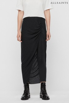 AllSaints Charcoal Skirt Leggings