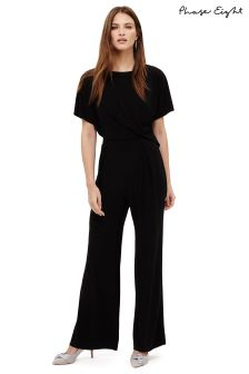 Phase Eight Black Lou Lou Jumpsuit