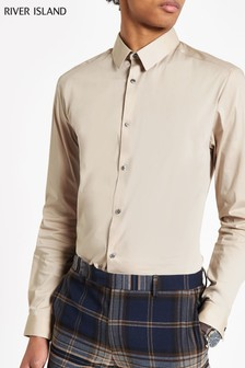 River Island Muscle Fit Shirt