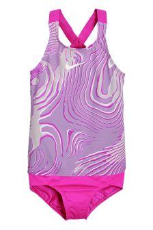 Nike Pink Crossback Tankini