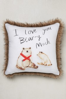 Beary Christmas Cushion