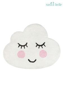 Alfombra con diseño de nube de Sass & Belle