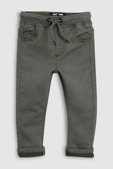 Мягкие стретчевые брюки без застёжек (3 мес.-6 лет)