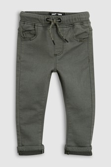 Pantaloni din material moale stretch (3 luni - 6 ani)