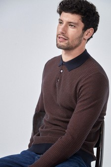 Smart Textured Polo
