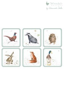 Set of 6 Wrendale Coasters