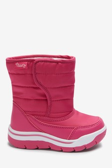 Quilted Winter Boots (Younger)