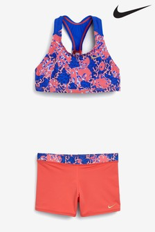 Nike Print Racerback Bikini Set