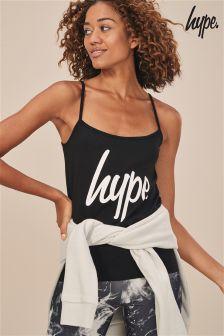 Hype. Black Script Vest