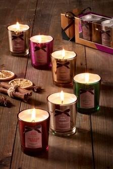 Set of 6 Votive Candles