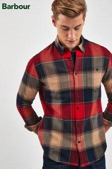 Barbour® Navy/Red Check Joseph Shirt