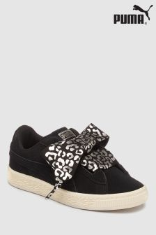Puma® Suede Heart Ribbon Luxe