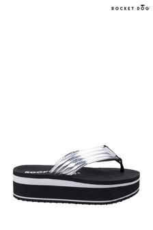 Rocket Dog Silver Jimmies Little Gem Slip-On Sandals
