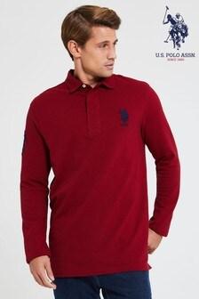 U.S. Polo Assn. Classic Long Sleeve Rugby Shirt
