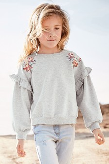 Embroidered Crew (3-16yrs)