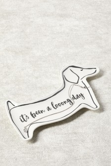 Ceramic Dog Trinket Dish