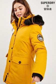 Superdry Yellow Everest Parka