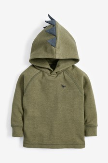 Textured Dino Spikes Hoody (3mths-7yrs)
