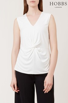 Hobbs Cream Delora Top