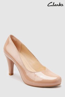 Clarks Patent Dalia Rose Court Shoe