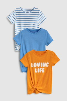 Stripe T-Shirts Three Pack (3-16yrs)