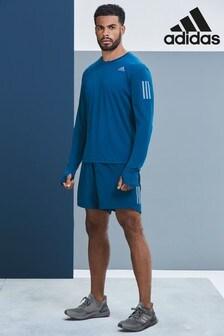 adidas Tech Blue Own The Run Shorts